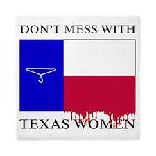Texas Women Queen Duvet