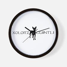 xoloitzcuintli  Wall Clock