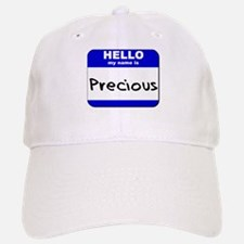 hello my name is precious Baseball Baseball Cap