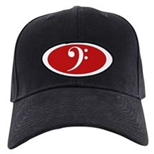 Bass Clef Cap (red)