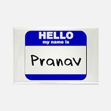 hello my name is pranav Rectangle Magnet
