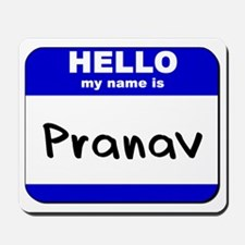 hello my name is pranav  Mousepad