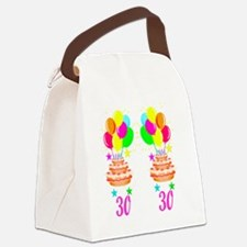 30TH PARTY Canvas Lunch Bag