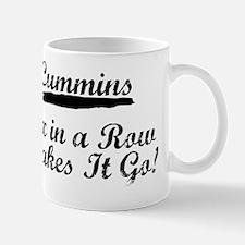 Cummins Six in a Row Makes It Go Mug