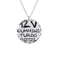 12 V Cummins Turbo Diesel Necklace