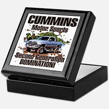 Cummins Motor Sports Keepsake Box