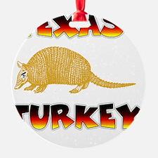 Texas Turkey Ornament