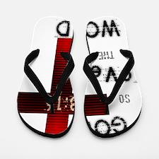 Gods Love 3:16 Flip Flops