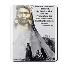 Chief Joseph Mousepad