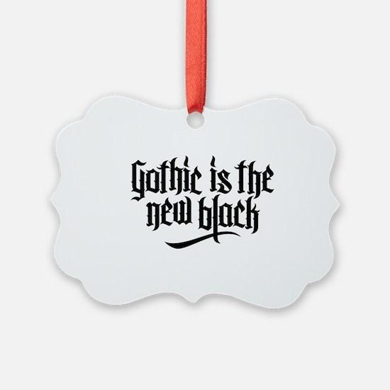 Gothic new black No.1 Ornament