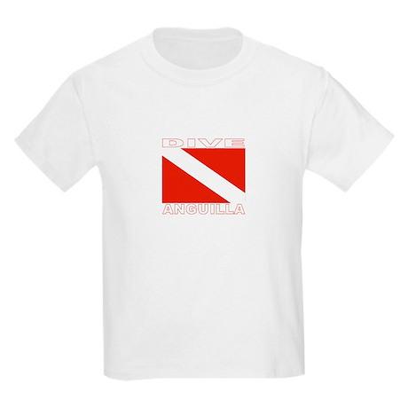 Dive Anguilla (Dark) Kids Light T-Shirt