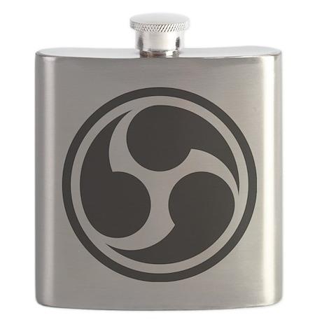 666 Triple Six (black) Flask