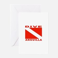 Dive Anguilla Greeting Cards (Pk of 10)