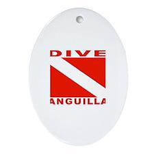 Dive Anguilla Oval Ornament