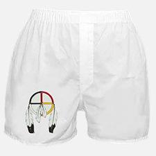 Feathered Medicine Wheel Boxer Shorts