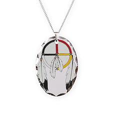 Feathered Medicine Wheel Necklace