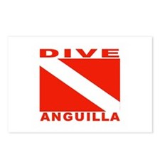 Dive Anguilla Postcards (Package of 8)