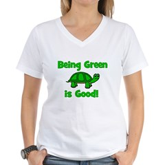 Being Green Is Good! -Turtle Shirt