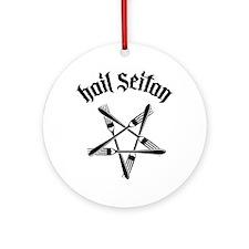 Hail Seitan 1.2 Round Ornament