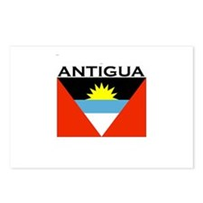 Antigua Flag Postcards (Package of 8)