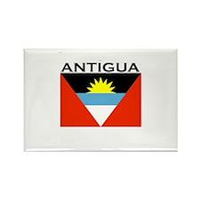 Antigua Flag Rectangle Magnet