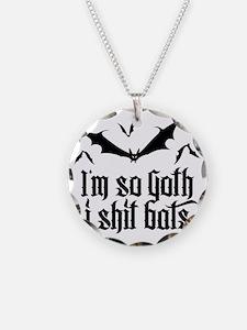 I'm so goth I shit Bats No.2 Necklace