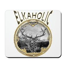 Elkaholic Gold Mousepad