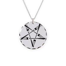 Fork Pentagram Necklace