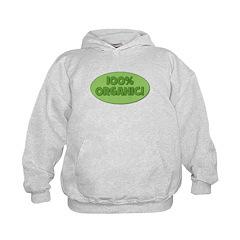 100% Organic (green) Hoodie
