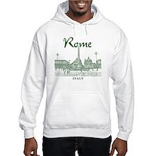 Rome_10x10_v1_Green_Piazza del P Hoodie