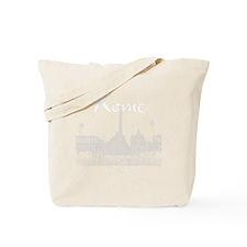 Rome_10x10_v1_White_Piazza del Popolo Tote Bag