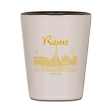 Rome_10x10_v1_Yellow_Piazza del Popolo Shot Glass