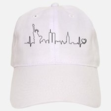 New York Heartbeat (Heart) Baseball Baseball Cap