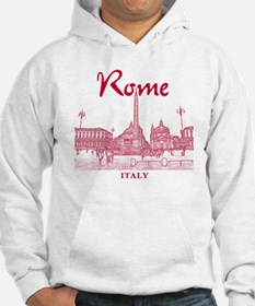 Rome_10x10_v1_Red_Piazza del Pop Jumper Hoody