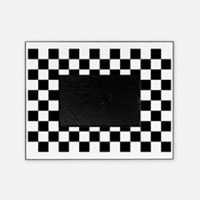 Black and white checkerboard Picture Frame