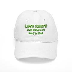 Love Earth Good Planets Hard Baseball Cap
