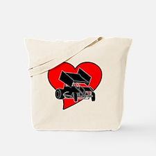 SprintHeart Tote Bag