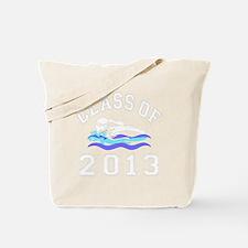 Class Of 2013 Girl Swimming Tote Bag