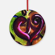 heartpillow Round Ornament