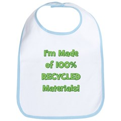 Made of 100% Recycled (green) Bib