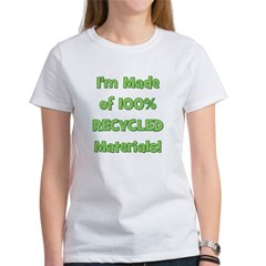 Made of 100% Recycled (green) Tee