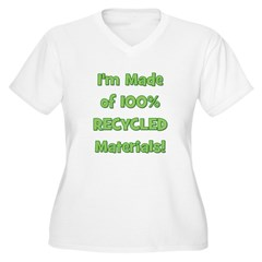 Made of 100% Recycled (green) T-Shirt