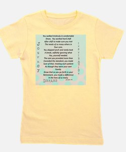Retired Nurse Poem Girl's Tee