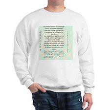 Retired Nurse Poem Sweatshirt
