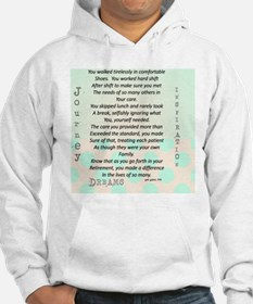 Retired Nurse Poem Hoodie