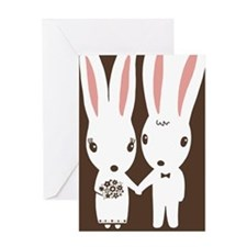 bunnieskindlesl Greeting Card