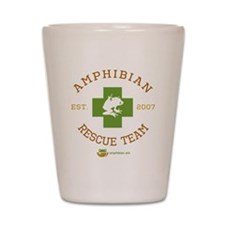 Amphibian Rescue Team Shot Glass