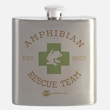 Amphibian Rescue Team Flask
