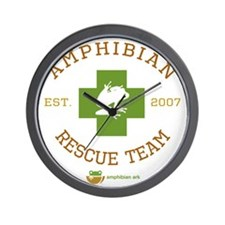 Amphibian Rescue Team Wall Clock