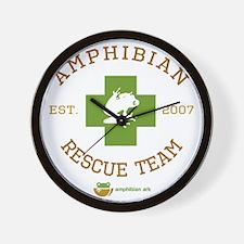 Amphibian Rescue Team Wall Clock